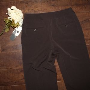 Atelier Womens Brown Career pants